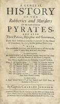 Титульная страница Всеобщей истории пиратства Чарльза Джонсона