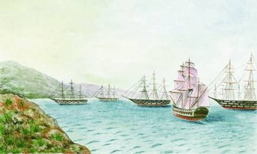 Голландская эскадра отправляется в Пуэрто-Рико