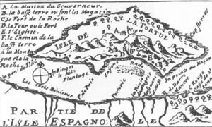 Карта Тортуги