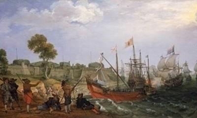 Морской бой у стен Байи