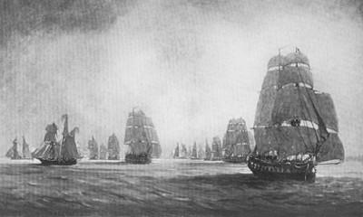 Корсарская экспедиция Дюге-Труена отправляется домой