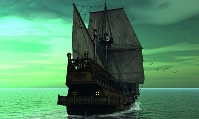 Капитан Кидд отправляется в плавание